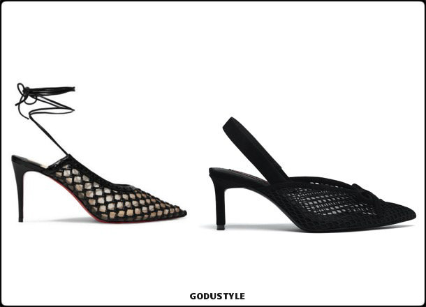 christian louboutin, shoes, uterque, spring 2018, trend, zapatos, clon, verano 2018, looks, streetstyle, shopping