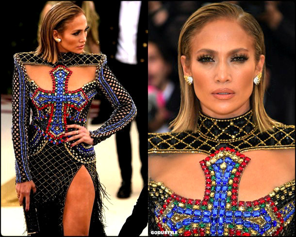 jennifer lopez, met 2018, gala, fashion, celebrity, look, style, details, celebrities, outfits, red carpet