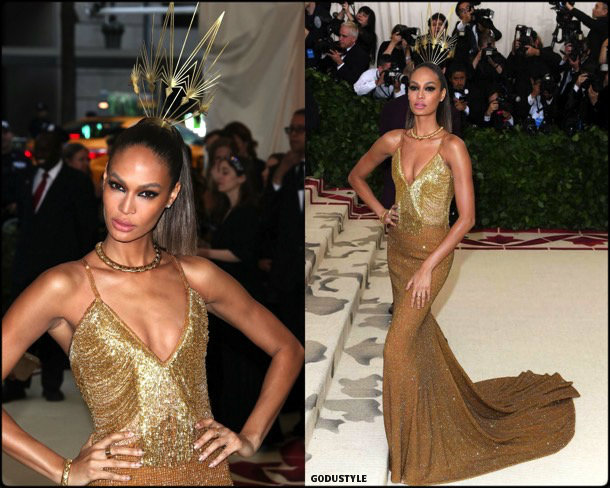 joan smalls, met 2018, gala, fashion, celebrity, look, style, details, celebrities, outfits, red carpet