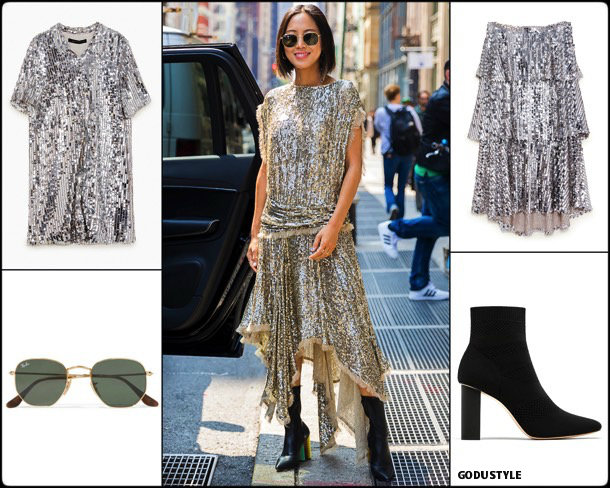 aimee song, sequin, lentejuelas, look, street style, fashion, trend, details, style, shopping, outfits, tendencias