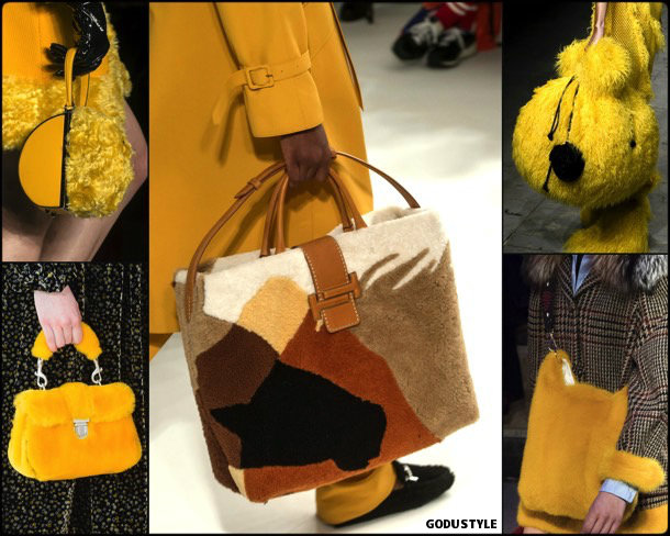 furry, bags, shoes, fall 2018, trends, mfw, bolsos, zapatos, tendencia, invierno 2018, looks, details