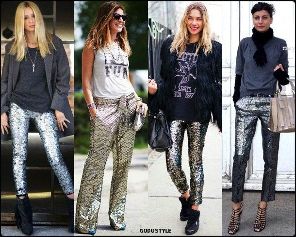 giovanna battaglia, sequin, lentejuelas, look, street style, fashion, trend, details, style, shopping, outfits, tendencias