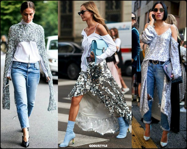 tiffany hsu, sequin, lentejuelas, look, street style, fashion, trend, details, style, shopping, outfits, tendencias
