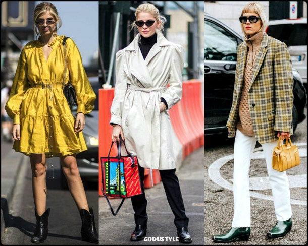 caro daur, cowboy, boots, botas, vaqueras, looks, street style, fall 2018, trend, details, style, shopping, tendencias