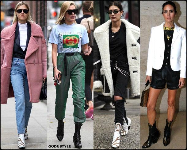 hailey baldwin, louis vuitton, cowboy, boots, botas, vaqueras, looks, street style, fall 2018, trend, details, tendencias