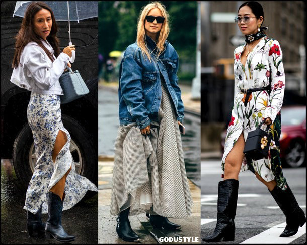cowboy boots, trends, fall 2018, street style, nyfw, spring 2019, looks, style, details, otoño 2019, moda, must-haves