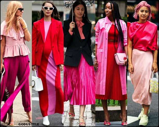 pink, rosa, trends, fall 2018, street style, nyfw, spring 2019, looks, style, details, otoño 2019, moda, must-haves