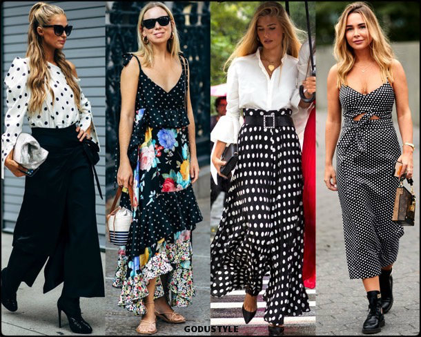 polka dots, trends, fall 2018, street style, nyfw, spring 2019, looks, style, details, otoño 2019, moda, must-haves