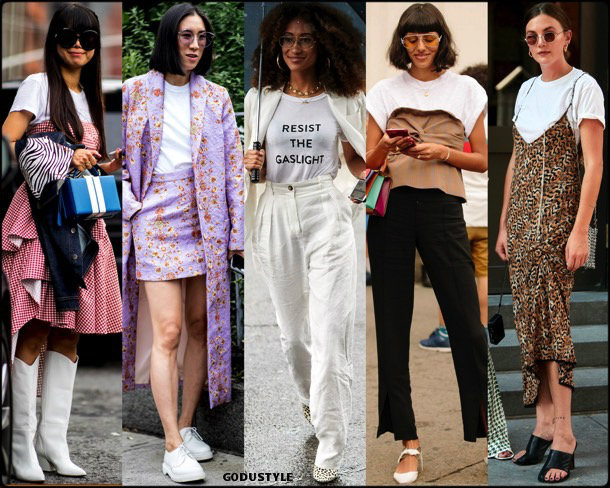 t-shirt, trends, fall 2018, street style, nyfw, spring 2019, looks, style, details, otoño 2019, ropa, moda, must-haves