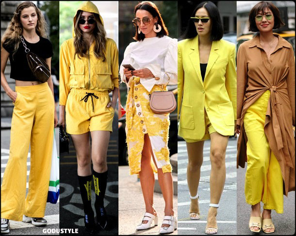 yellow, trends, fall 2018, street style, nyfw, spring 2019, looks, style, details, otoño 2019, moda, must-haves