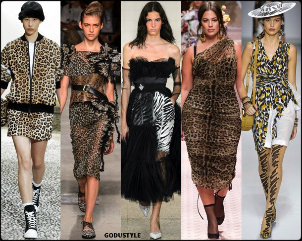 animal prints, spring 2019, trends, verano 2019, tendencias, mfw, looks, style, details, moda, fashion
