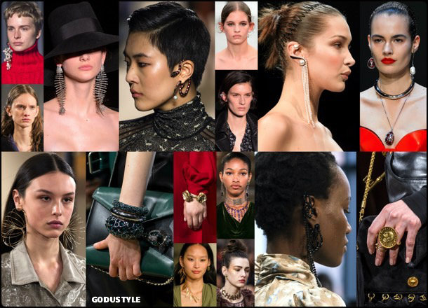 jewelry, fall 2018, winter 2019, joyas, otoño 2018, invierno 2019, trends, tendencias, look, style, details, review