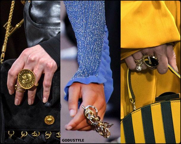multiple rings, anillos, jewelry, joyas, fall 2018, winter 2019, otoño 2018, invierno 2019, trends, tendencias
