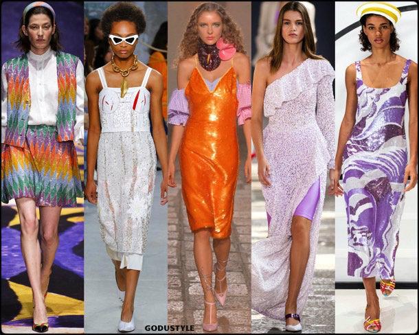 sequin, lentejuelas, spring 2019, trends, verano 2019, tendencias, mfw, looks, style, details, moda, fashion