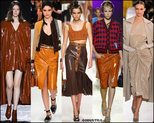 vinilo, plastic, pvc, spring 2019, trends, verano 2019, tendencias, mfw, looks, style, details, moda, fashion