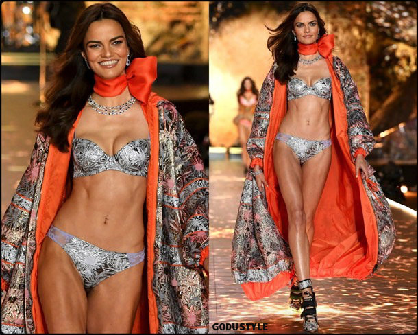 barbara fialho, victorias secret, 2018, fashion show, desfile, victorias secret 2018, models, look, style, details