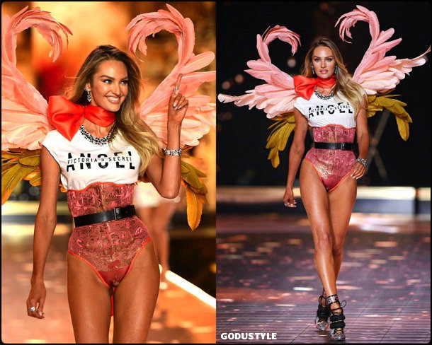 candice swanepoel, victorias secret, 2018, fashion show, desfile, victorias secret 2018, models, look, style, details