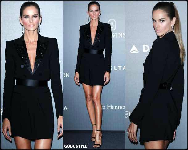 izabel goulart, tuxedo dress, vestido tuxedo, trend, tendencia, vestido fiesta, party dress, shopping, look, style
