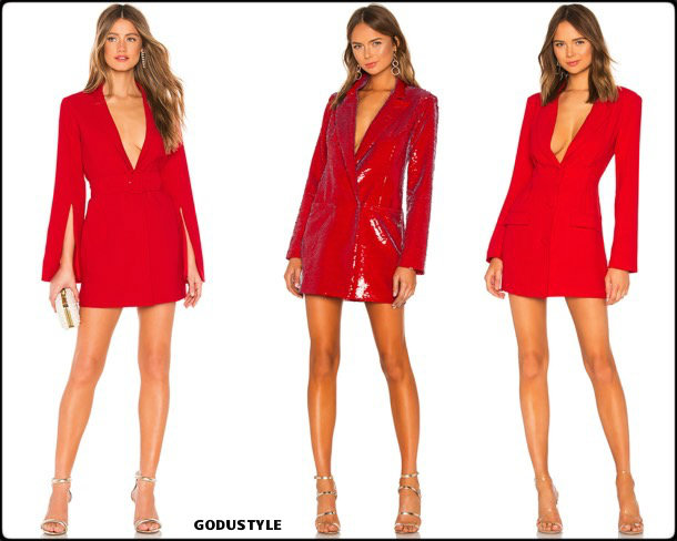 tuxedo dress, red, vestido tuxedo, trend, tendencia, vestido fiesta, party dress, shopping, look, style