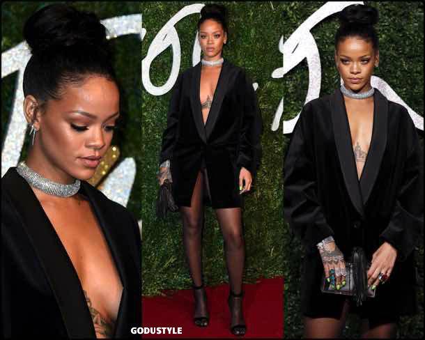 rihanna, vestido tuxedo, trend, tendencia, vestido fiesta, party dress, shopping, look, style