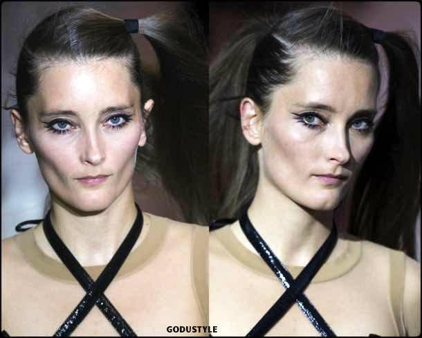 courreges, beauty, belleza, beauty look, makeup, party, look, spring 2018, trends, verano 2018, tendencias