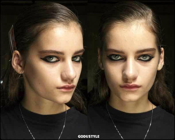 mugler, beauty, belleza, beauty look, makeup, party, look, spring 2018, trends, verano 2018, tendencias