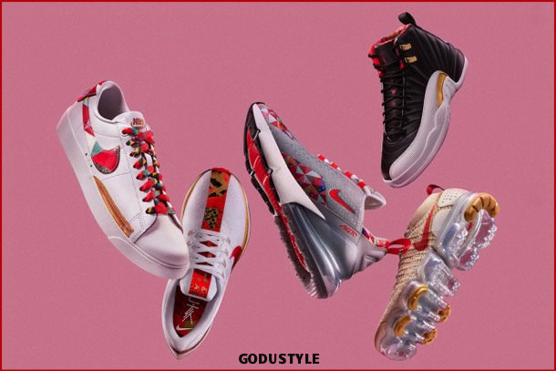 nike, fashion, chinese new year, pig year, capsule collection, shopping, 2019, collection, look, style