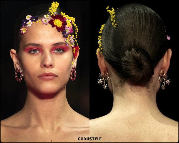 alexis mabille, beauty, look, makeup, belleza, maquillaje, couture, spring 2019, verano 2019, style, details