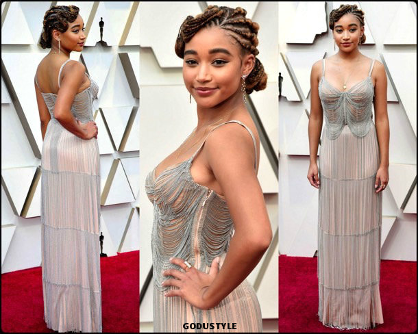 amandla stenberg, oscar 2019, red carpet, best, fashion, look, beauty, style, details, celebrities, review, alfombra roja