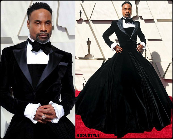 billy porter, oscar 2019, red carpet, best, fashion, look, beauty, style, details, celebrities, review, alfombra roja