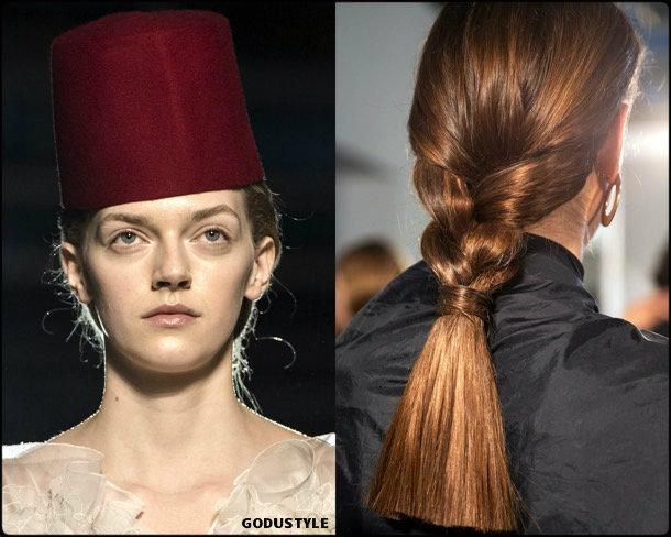 giambattista valli, beauty, look, makeup, belleza, maquillaje, couture, spring 2019, verano 2019, style, details