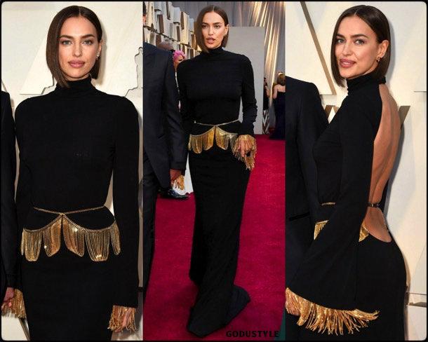irina shayk, oscar 2019, red carpet, best, fashion, look, beauty, style, details, celebrities, review, alfombra roja