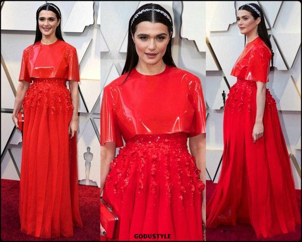 rachel weisz, oscar 2019, red carpet, best, fashion, look, beauty, style, details, celebrities, review, alfombra roja