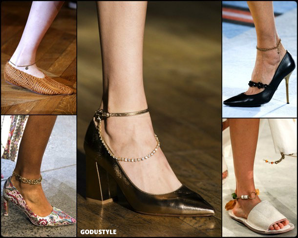 anklets, tobilleras, jewelry, spring 2019, trends, joyas, tendencias, verano 2019, look, style, details, fashion, moda, design, diseño