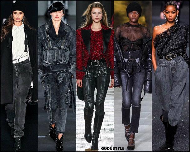 denim, jeans, fall 2019, fashion, trends, tendencias, moda, otoño 2019, invierno 2020, look, style, details, fashion weeks