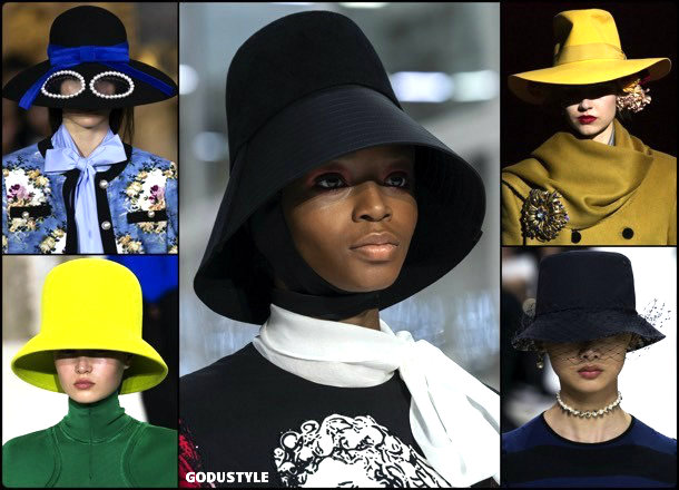 low-brimmed-hats-fall-2019-fashion-week-trends-look-style-details-godustyle