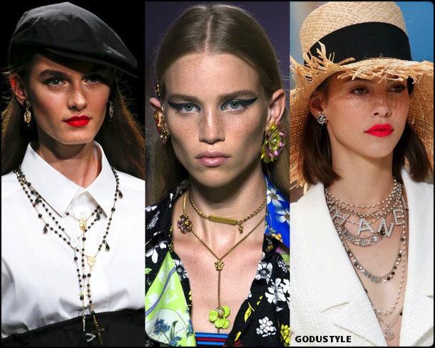 necklaces, collares, jewelry, spring 2019, trends, joyas, tendencias, verano 2019, look, style, details, fashion, moda, design