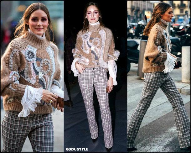 olivia palermo, alberta ferretti, fashion, looks, fall 2019, nyfw, style, details, street style, outfits, front row