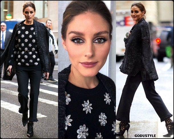 olivia palermo, michael kors, fashion, looks, fall 2019, nyfw, style, details, street style, outfits, front row
