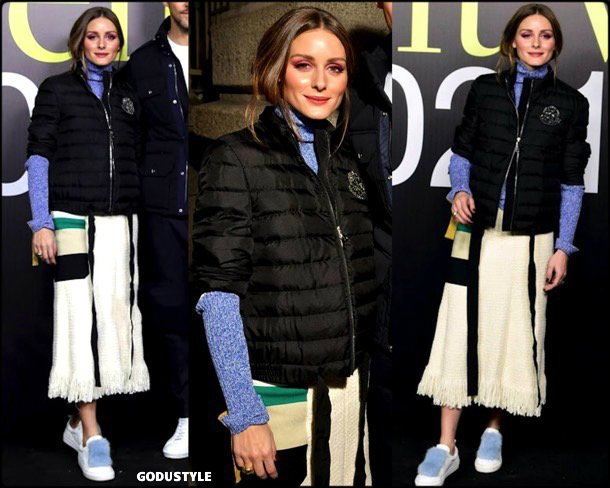 olivia palermo, mocler genius, fashion, looks, fall 2019, nyfw, style, details, street style, outfits, front row