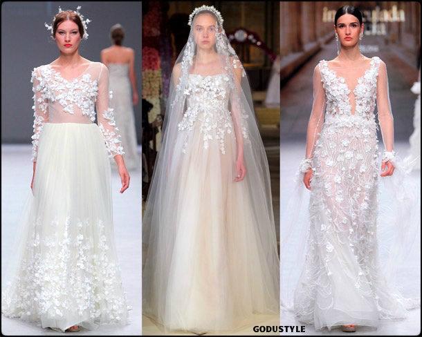 3d florals, bridal, spring 2020, trends, novias, verano, 2020, tendencias, look, style, details, wedding dress, vestidos boda, flores 3d