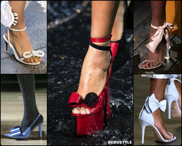 bows, shoes, summer 2019, lazos, zapatos, verano 2019, trends, tendencias, zapatos moda, fashion shoes