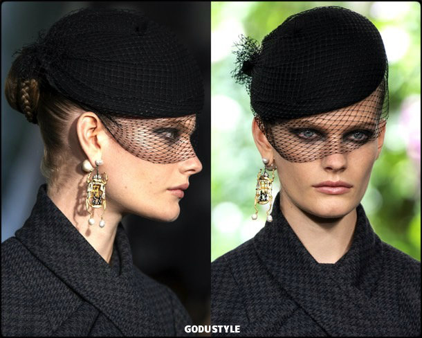 dior, fashion, beauty, look, couture, fall 2019, style, details, makeup, hair, trends, belleza, moda, otoño 2019, tendencias