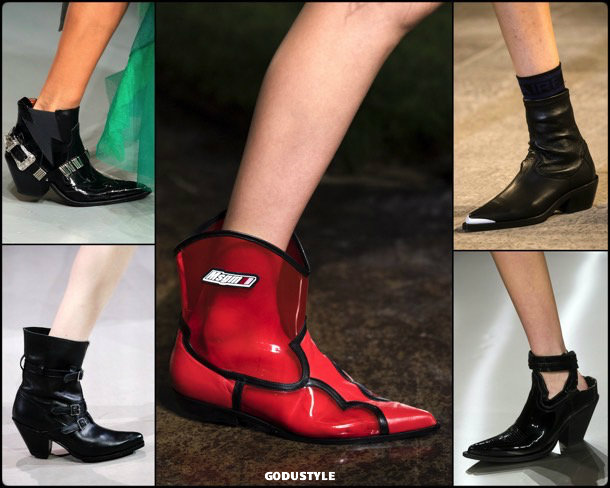 cowboy, shoes, summer 2019, zapatos, verano 2019, trends, tendencias, zapatos moda, fashion shoes, runway, pasarela