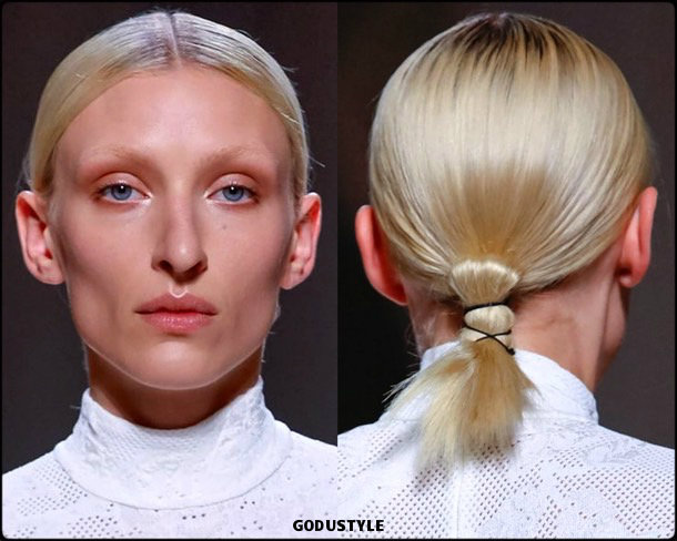 givenchy, fashion, beauty, look, couture, fall 2019, style, details, makeup, hair, trends, belleza, moda, otoño 2019, tendencias