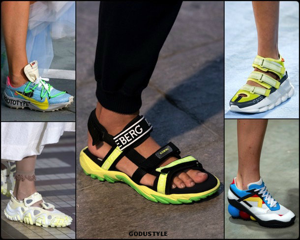 sneakers, shoes, summer 2019, zapatos, verano 2019, trends, tendencias, zapatos moda, fashion shoes, runway, pasarela