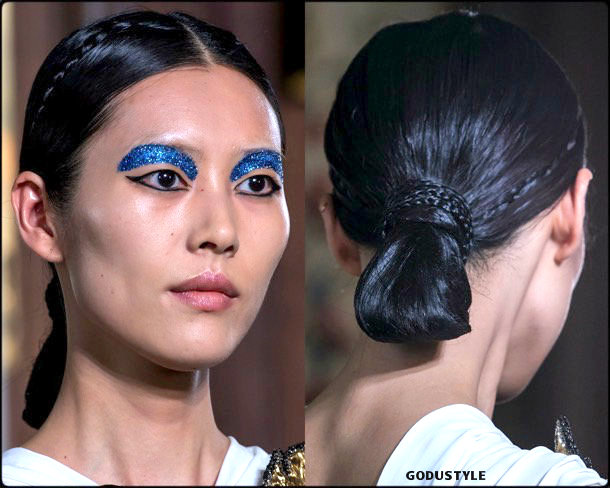 valentino, fashion, beauty, look, couture, fall 2019, style, details, makeup, hair, trends, belleza, moda, otoño 2019, tendencias