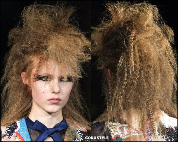 viktor rolf, fashion, beauty, look, couture, fall 2019, style, details, makeup, hair, trends, belleza, moda, otoño 2019, tendencias