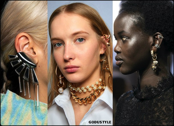 ear cuff, jewelry, trends, fall 2019, winter 2020, fashion, look, style, details, joyas, tendencias, otoño 2019, invierno 2020, moda, design, diseño