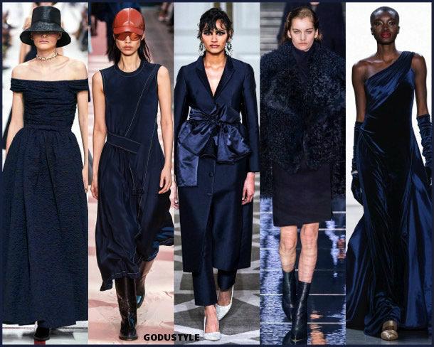 evening blue, fashion, color, fall 2019, winter 2020, trend, look, style, details, colores, moda, otoño 2019, invierno 2020, tendencias, pantone